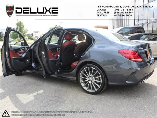 2015 Mercedes-Benz C-Class Base (Stk: D0616) in Concord - Image 11 of 28