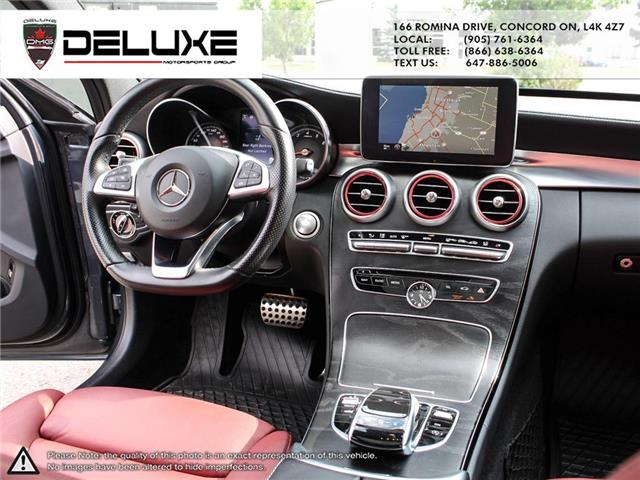 2015 Mercedes-Benz C-Class Base (Stk: D0616) in Concord - Image 15 of 28
