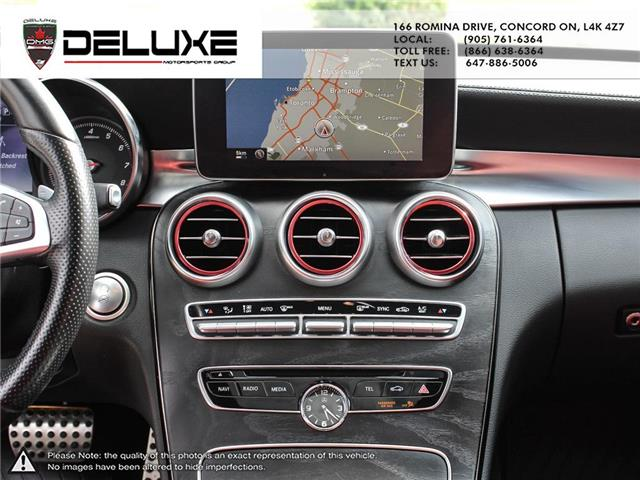2015 Mercedes-Benz C-Class Base (Stk: D0616) in Concord - Image 17 of 28