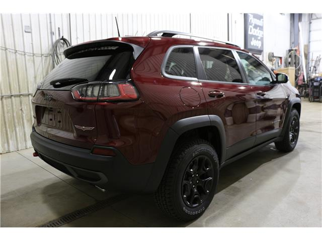 2019 Jeep Cherokee Trailhawk (Stk: KT100) in Rocky Mountain House - Image 7 of 28