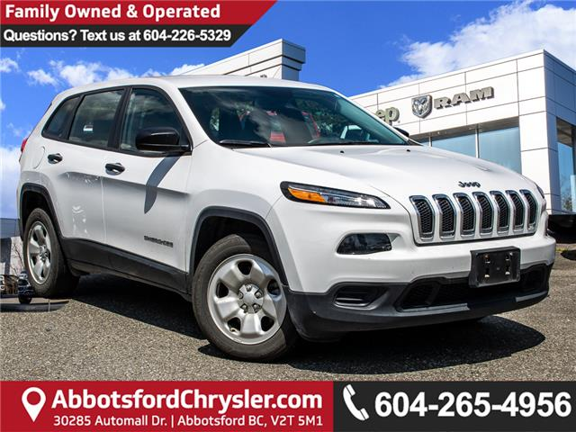2018 Jeep Cherokee Sport (Stk: K440877A) in Abbotsford - Image 1 of 20