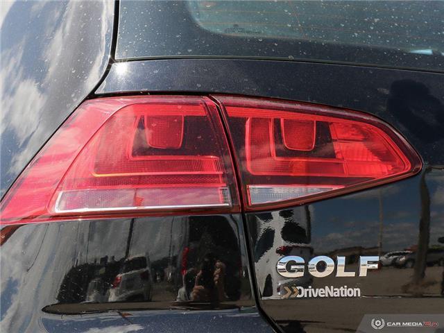 2017 Volkswagen Golf 1.8 TSI Trendline (Stk: A2896) in Saskatoon - Image 11 of 23