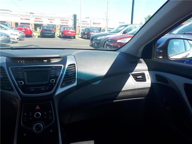 2016 Hyundai Elantra  (Stk: 554502) in Orleans - Image 11 of 27