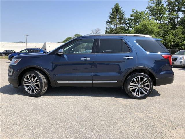 2017 Ford Explorer Platinum (Stk: EX19127A) in Barrie - Image 2 of 30