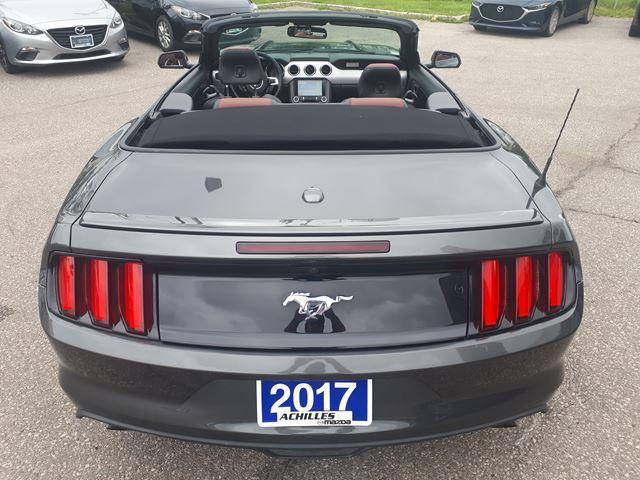 2017 Ford Mustang EcoBoost Premium Premium, Leather