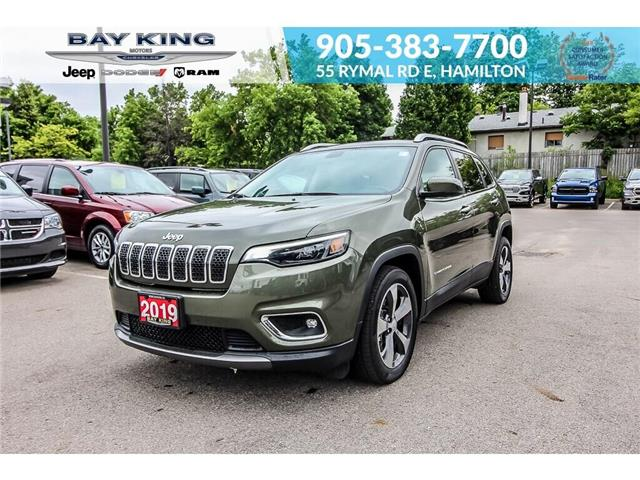 2019 Jeep Cherokee Limited (Stk: 6876) in Hamilton - Image 1 of 22