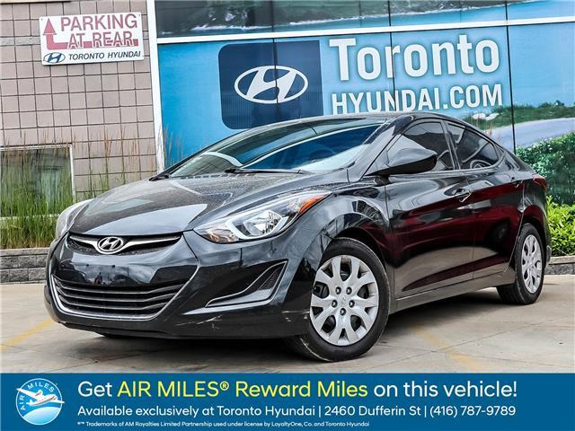 2015 Hyundai Elantra GL (Stk: U06572) in Toronto - Image 1 of 13