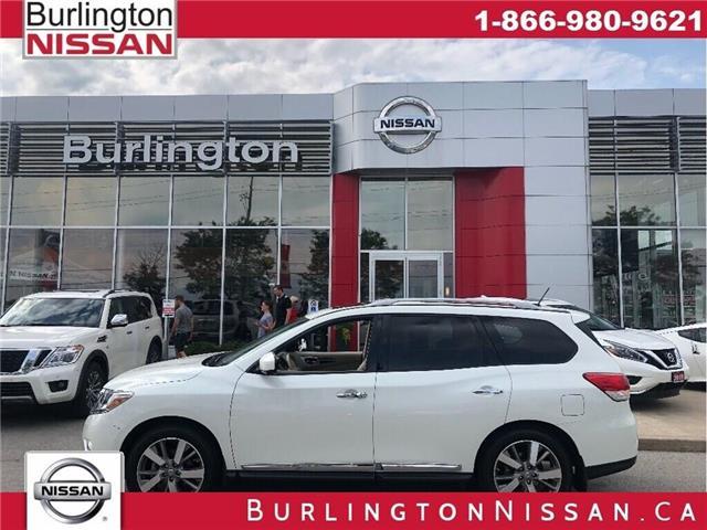 2015 Nissan Pathfinder Platinum (Stk: A6737) in Burlington - Image 1 of 25