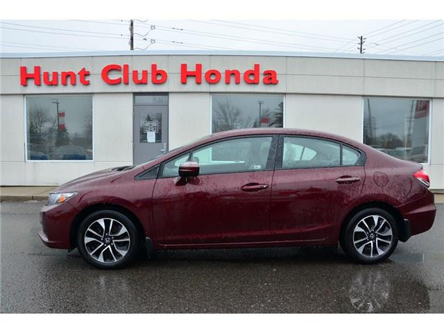 2015 Honda Civic EX (Stk: 7045A) in Gloucester - Image 1 of 29