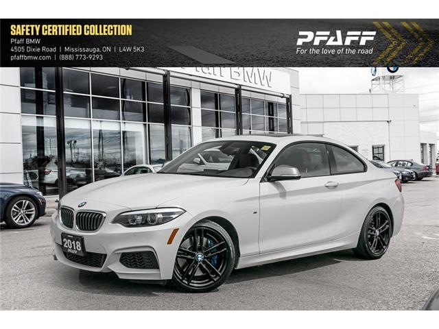 2018 BMW M240 i (Stk: U5579) in Mississauga - Image 1 of 22