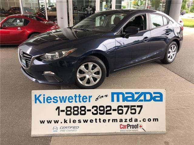 2015 Mazda Mazda3 GX (Stk: U3824) in Kitchener - Image 1 of 26