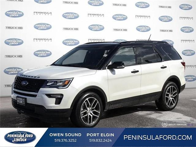 2019 Ford Explorer Sport (Stk: 19EX09) in Owen Sound - Image 1 of 23