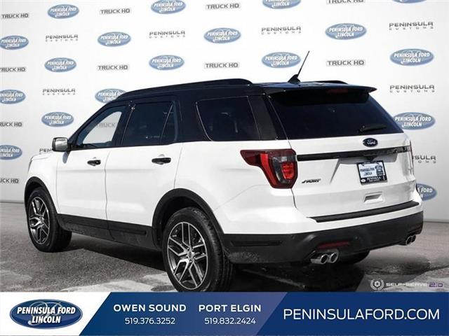 2019 Ford Explorer Sport (Stk: 19EX09) in Owen Sound - Image 4 of 23