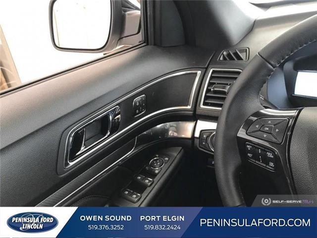 2019 Ford Explorer Sport (Stk: 19EX09) in Owen Sound - Image 15 of 23