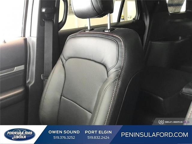 2019 Ford Explorer Sport (Stk: 19EX09) in Owen Sound - Image 18 of 23