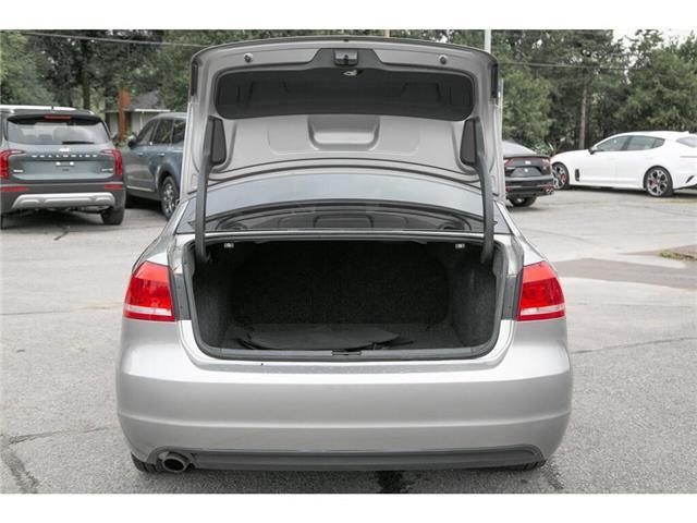 2013 Volkswagen Passat 2.5L Comfortline (Stk: 91017B) in Gatineau - Image 9 of 28