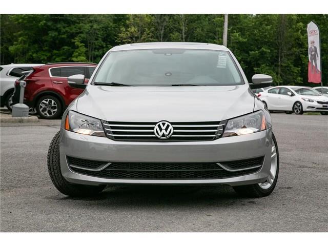2013 Volkswagen Passat 2.5L Comfortline (Stk: 91017B) in Gatineau - Image 10 of 28