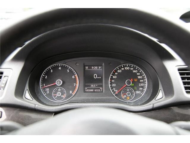 2013 Volkswagen Passat 2.5L Comfortline (Stk: 91017B) in Gatineau - Image 12 of 28