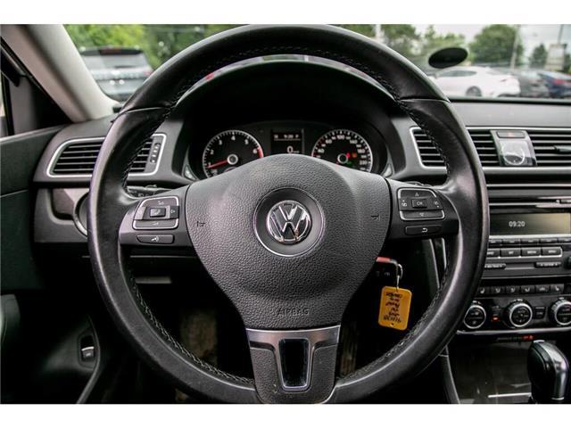 2013 Volkswagen Passat 2.5L Comfortline (Stk: 91017B) in Gatineau - Image 15 of 28