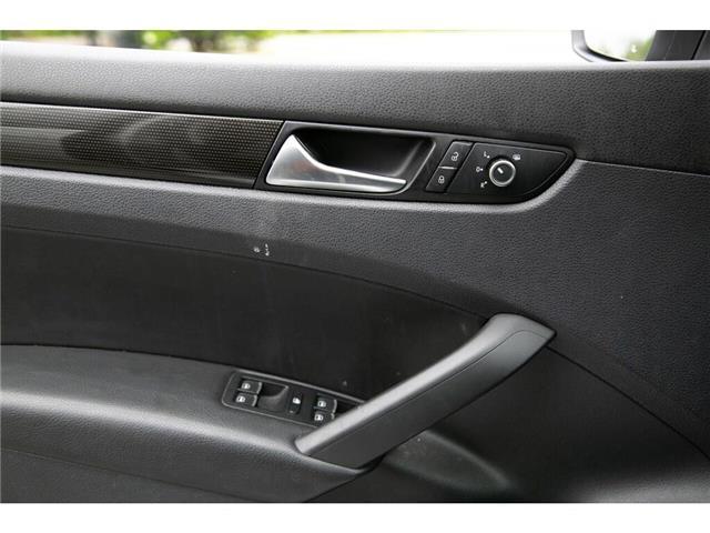 2013 Volkswagen Passat 2.5L Comfortline (Stk: 91017B) in Gatineau - Image 16 of 28