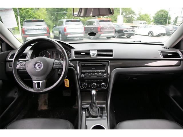 2013 Volkswagen Passat 2.5L Comfortline (Stk: 91017B) in Gatineau - Image 25 of 28