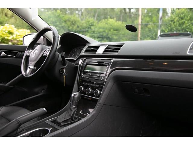 2013 Volkswagen Passat 2.5L Comfortline (Stk: 91017B) in Gatineau - Image 28 of 28