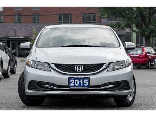 2015 Honda Civic LX (Stk: 19-556A) in Richmond Hill - Image 2 of 19