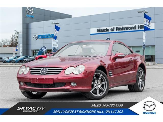 2002 Mercedes-Benz SL500  (Stk: P0378A) in Richmond Hill - Image 1 of 7