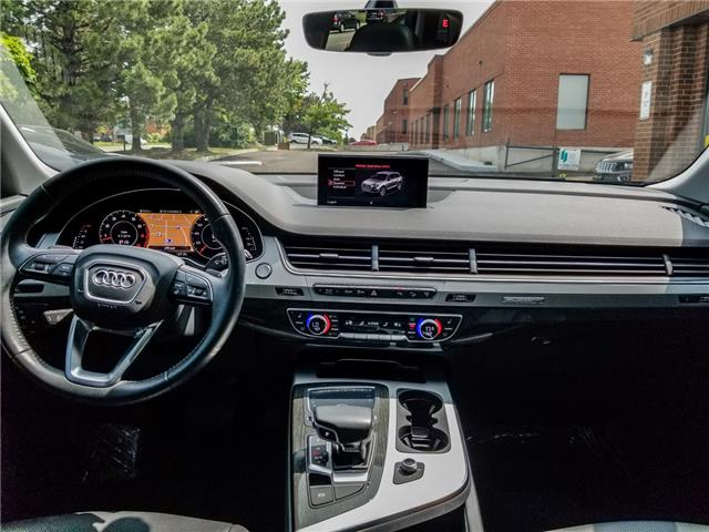 2017 Audi Q7 3.0T Progressiv (Stk: 11289) in Woodbridge - Image 13 of 28
