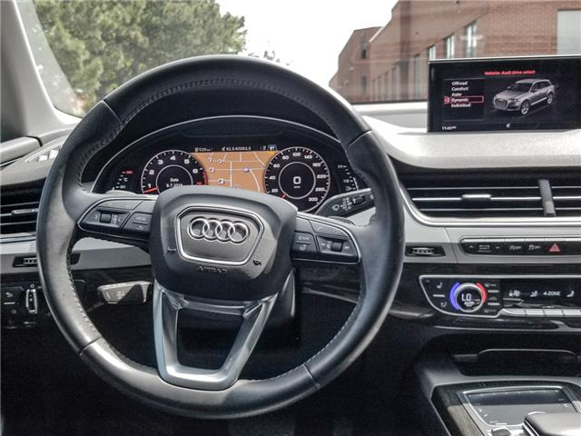 2017 Audi Q7 3.0T Progressiv (Stk: 11289) in Woodbridge - Image 14 of 28