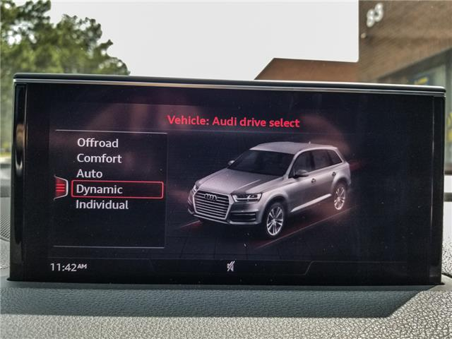 2017 Audi Q7 3.0T Progressiv (Stk: 11289) in Woodbridge - Image 19 of 28
