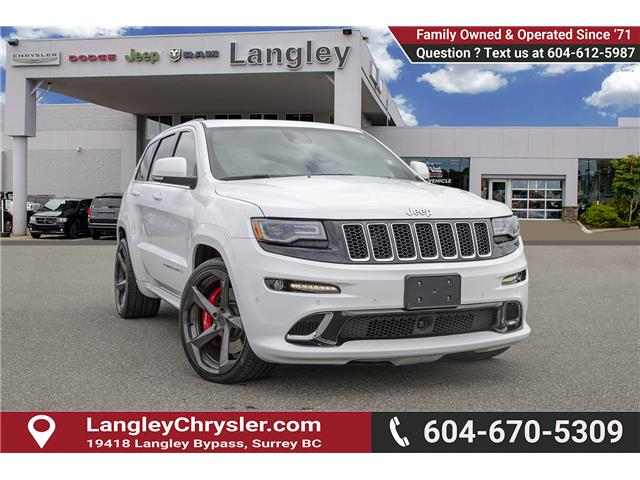 2015 Jeep Grand Cherokee 27L SRT (Stk: K578649A) in Surrey - Image 1 of 26