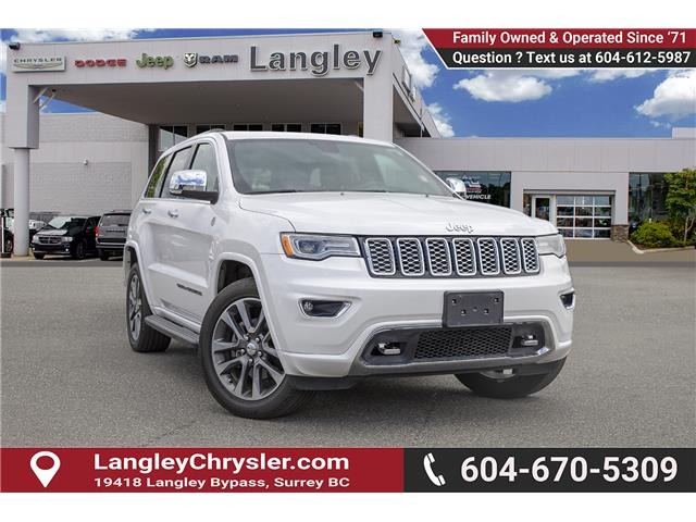 2017 Jeep Grand Cherokee Overland (Stk: K843846A) in Surrey - Image 1 of 28