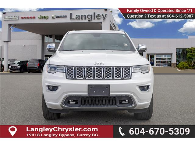 2017 Jeep Grand Cherokee Overland (Stk: K843846A) in Surrey - Image 2 of 28