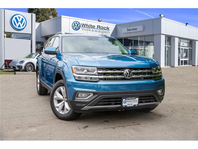 2019 Volkswagen Atlas 3.6 FSI Highline (Stk: KA528029) in Vancouver - Image 1 of 30