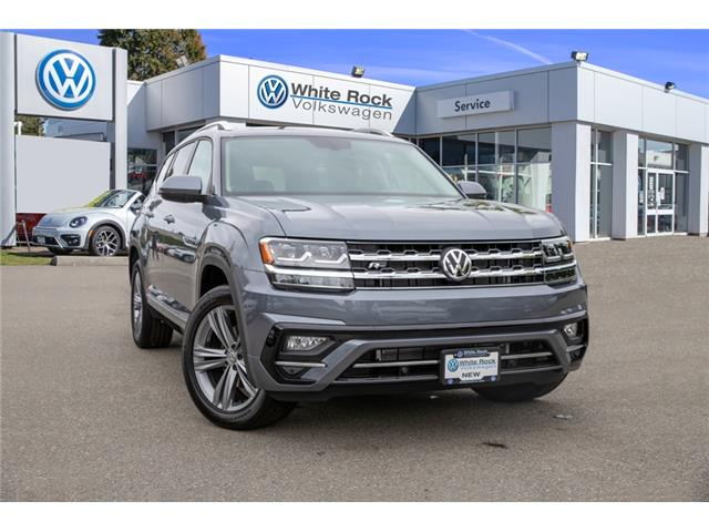 2019 Volkswagen Atlas 3.6 FSI Highline (Stk: KA564935) in Vancouver - Image 1 of 30