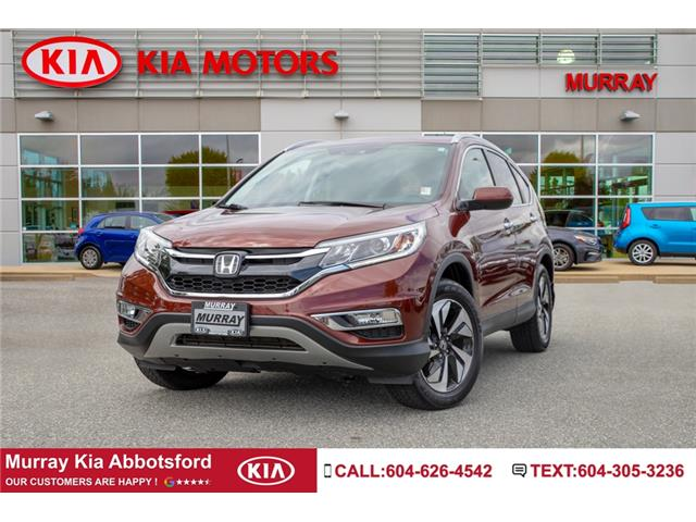 2016 Honda CR-V Touring (Stk: M1289) in Abbotsford - Image 1 of 27