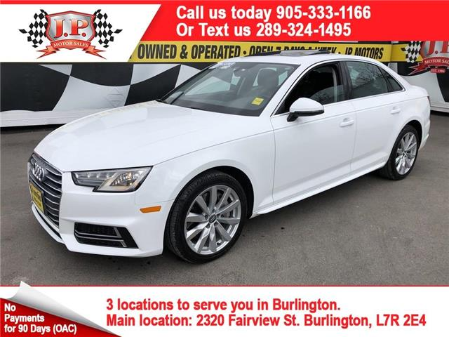 2018 Audi A4 2.0T Komfort (Stk: 46552r) in Burlington - Image 1 of 25