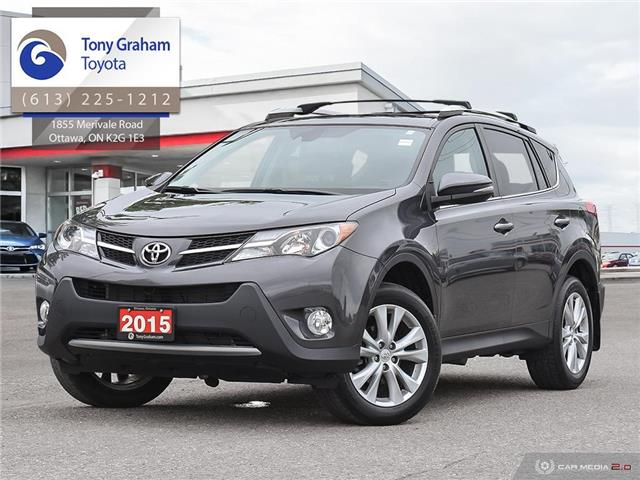 2015 Toyota RAV4 Limited (Stk: E7872) in Ottawa - Image 1 of 29