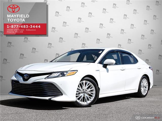 2018 Toyota Camry Hybrid XLE (Stk: 1901756A) in Edmonton - Image 1 of 21