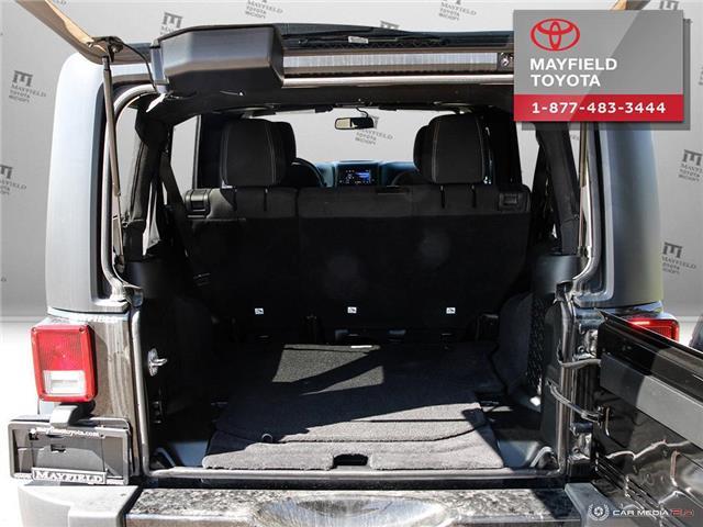 2018 Jeep Wrangler JK Unlimited Sahara (Stk: 194012) in Edmonton - Image 10 of 21