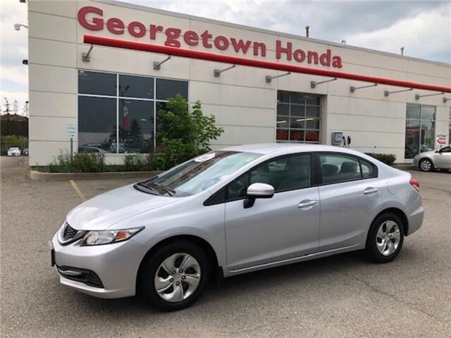 2014 Honda Civic LX (Stk: P7101) in Georgetown - Image 1 of 9