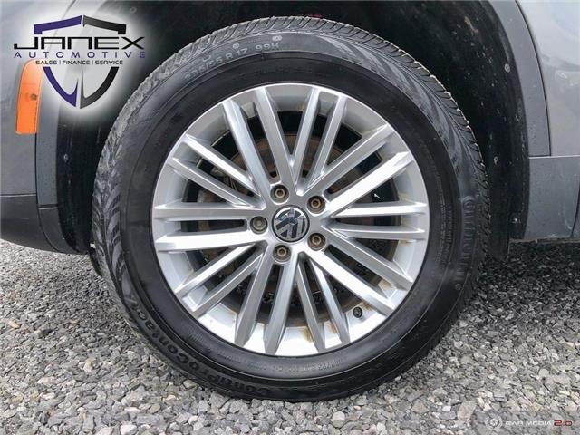 2016 Volkswagen Tiguan Comfortline (Stk: 19257) in Ottawa - Image 6 of 29