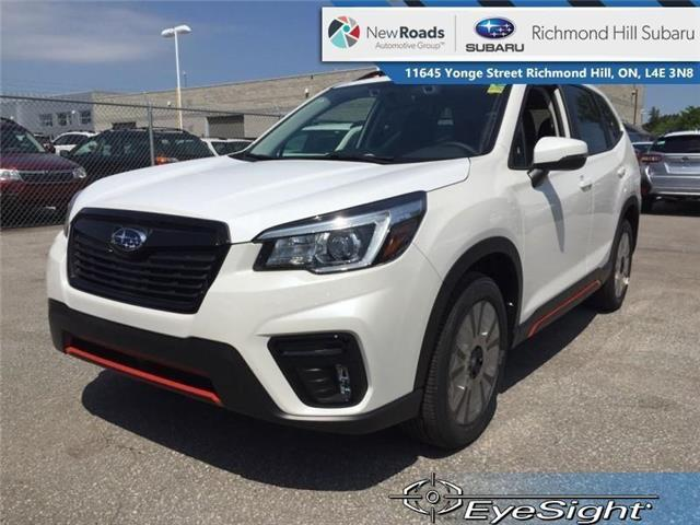 2019 Subaru Forester Sport Eyesight CVT (Stk: 32771) in RICHMOND HILL - Image 1 of 24