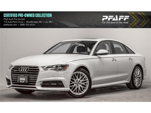 2018 Audi A6 3.0T Progressiv (Stk: C6650) in Woodbridge - Image 1 of 22