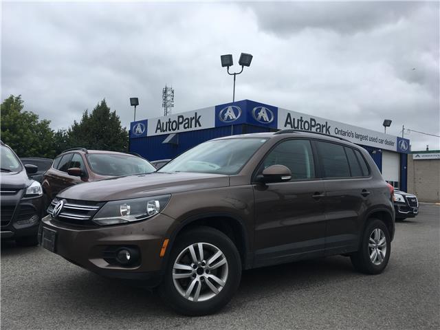 2015 Volkswagen Tiguan Trendline (Stk: 15-25938) in Georgetown - Image 1 of 22