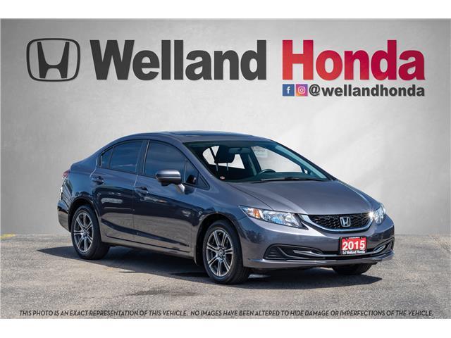 2015 Honda Civic EX (Stk: U19131) in Welland - Image 1 of 20
