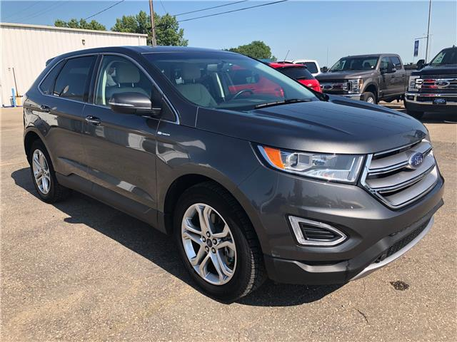 2017 Ford Edge Titanium (Stk: 9232A) in Wilkie - Image 1 of 22