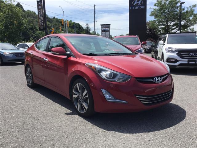 2015 Hyundai Elantra Limited (Stk: R96235A) in Ottawa - Image 1 of 12