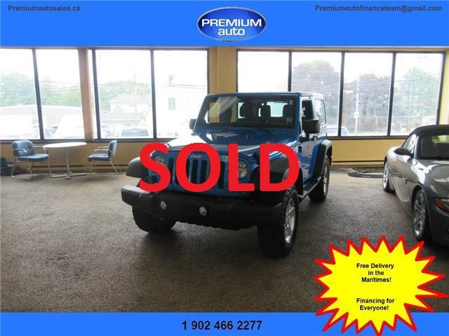2014 Jeep Wrangler Sport (Stk: 304026) in Dartmouth - Image 1 of 17